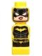 Minifig No: 85863pb104  Name: Microfig Batman Batgirl