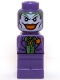 Minifig No: 85863pb106  Name: Microfigure Batman The Joker