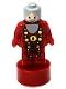 Minifig No: 90398pb020  Name: Albus Dumbledore Statuette / Trophy