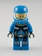 Lot ID: 109238291  Minifig No: ac005  Name: Alien Defense Unit Soldier 2 - Dark Bluish Gray Hips