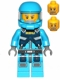 Minifig No: ac006  Name: Alien Defense Unit Soldier 3