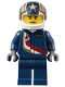 Minifig No: air052  Name: Airport - Jet Pilot Female