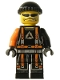 Minifig No: alp027  Name: Flex, Alpha Team Arctic
