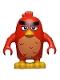 Minifig No: ang012  Name: Red (75825)