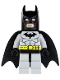 Minifig No: bat001  Name: Batman, Light Bluish Gray Suit with Black Mask