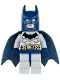 Minifig No: bat022  Name: Batman, Light Bluish Gray Suit with Dark Blue Mask