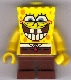 Minifig No: bob021  Name: SpongeBob - Grin with Bottom Teeth