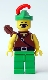 Minifig No: cas285  Name: Dark Forest - Forestman 1 with Quiver