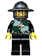 Minifig No: cas455  Name: Kingdoms - Dragon Knight Quarters, Helmet with Broad Brim, Bared Teeth