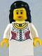 Minifig No: cas477  Name: Kingdoms - Princess, Black Hair (9349)