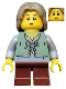 Minifig No: cas489  Name: Kingdoms - Peasant, Child