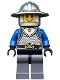 Minifig No: cas517  Name: Castle - King's Knight Scale Mail, Crown Belt, Helmet with Broad Brim, Open Grin