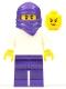 Minifig No: cas548  Name: Ninja - Female (45023)