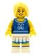 Minifig No: col002  Name: Cheerleader