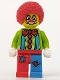 Minifig No: col004  Name: Circus Clown - Minifig only Entry