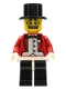 Minifig No: col019  Name: Circus Ringmaster - Minifig only Entry