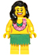 Minifig No: col033  Name: Hula Dancer - Minifigure only Entry