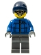 Minifig No: col080  Name: Snowboarder Guy - Minifigure only Entry