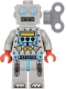 Minifig No: col087  Name: Clockwork Robot - Minifig only Entry