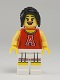 Minifig No: col125  Name: Red Cheerleader - Minifigure only Entry