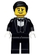 Minifig No: col129  Name: Waiter - Minifig only Entry