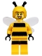 Minifig No: col151  Name: Bumblebee Girl
