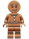 Minifig No: col168  Name: Gingerbread Man - Minifigure only Entry