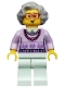 Minifig No: col176  Name: Grandma