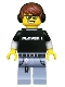 Minifig No: col182  Name: Video Game Guy - Minifigure only Entry