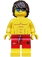 Minifig No: col185  Name: Lifeguard, Male - Minifigure only Entry