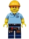 Minifig No: col203  Name: Carpenter - Minifig only Entry