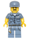 Minifig No: col236  Name: Janitor - Minifigure only Entry