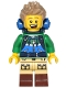 Minifig No: col249  Name: Hiker - Minifigure only Entry