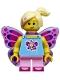 Minifig No: col292  Name: Butterfly Girl - Minifig only Entry