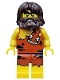 Minifig No: col302  Name: Cave Man - Iconic Cave