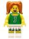 Minifig No: col306  Name: Green Cheerleader