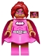 Minifig No: coltlbm10  Name: Pink Power Batgirl - Minifigure Only Entry