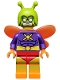 Minifig No: coltlbm36  Name: Killer Moth - Minifigure Only Entry