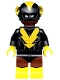 Minifig No: coltlbm44  Name: Black Vulcan - Minifigure Only Entry