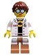 Minifig No: coltlnm18  Name: GPL Tech - Minifigure Only Entry, no stand, no accessories