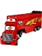 Minifig No: crs004  Name: Mack - Semi Tractor Trailer (10745)