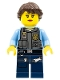Minifig No: cty0375  Name: Police - LEGO City Undercover Elite Police Officer 4