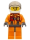 Minifig No: cty0411  Name: Coast Guard City - Helicopter Pilot, Harness