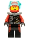 Minifig No: cty0598  Name: Scuba Diver, Female without Flippers