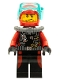 Minifig No: cty0599  Name: Scuba Diver, Male without Flippers