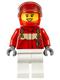 Minifig No: cty0607  Name: Paramedic - Pilot Female, Red Helmet
