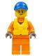 Minifig No: cty0818  Name: Coast Guard City - Rescue, Life Jacket