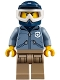 Minifig No: cty0830  Name: Mountain Police - Officer Male, Dirt Bike