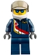 Minifig No: cty0841  Name: Airshow Jet Pilot