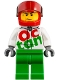 Minifig No: cty0842  Name: Speed Record Car Driver